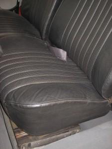 Sitze Targa schwarz