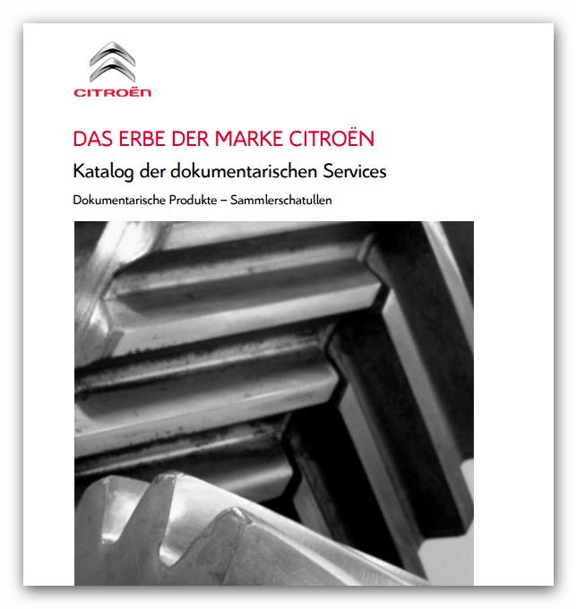 Citroen Heritage, Katalog der dokumentarischen ServicesSnap_2015.04.08_00h33m47s_004